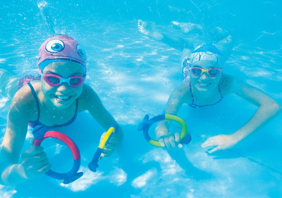 2eb095a7d4 Dive sticks develop your child's underwater confidence while they play