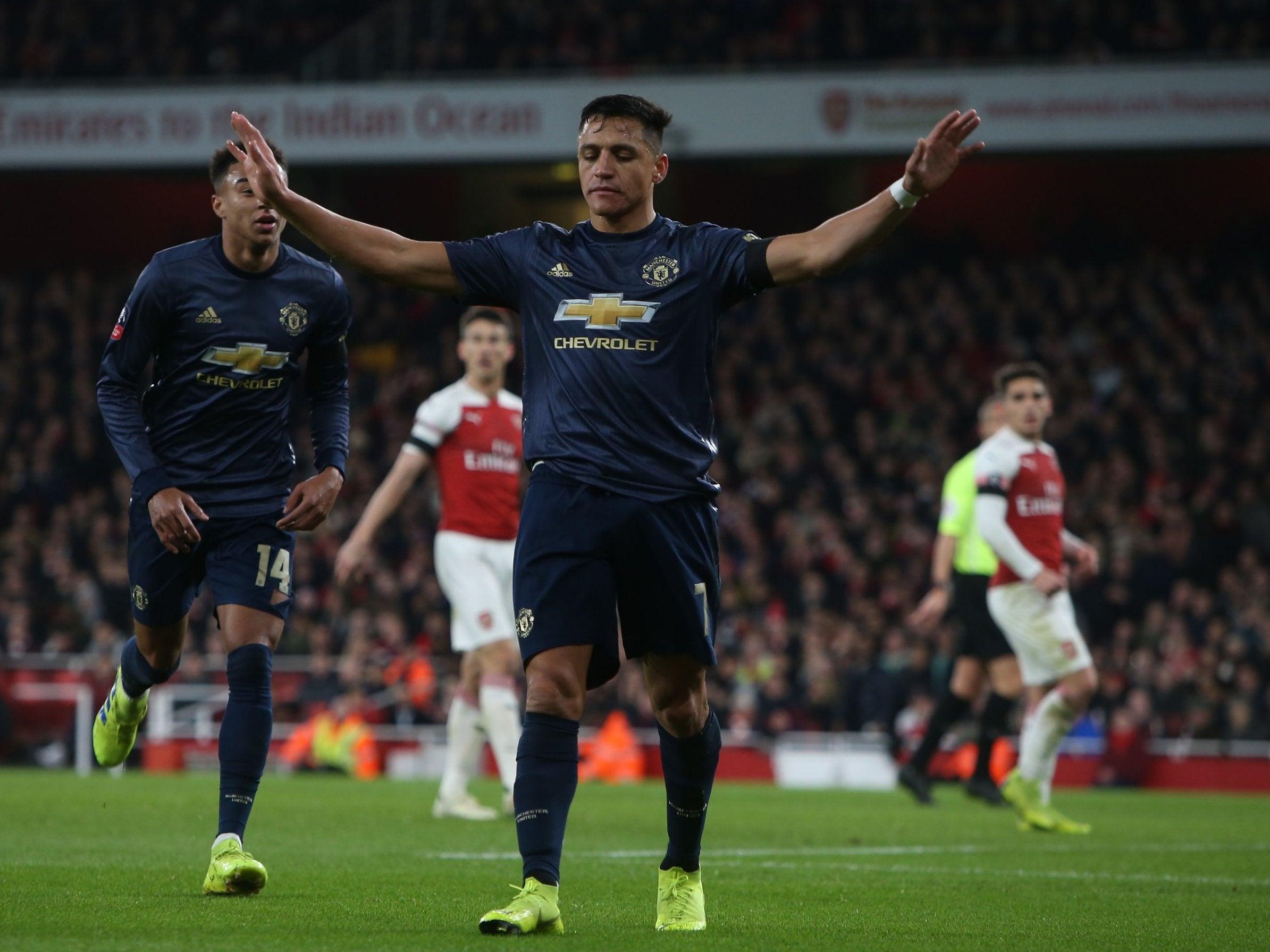 Manchester United Calendario.Revisa El Calendario De Alexis Sanchez En Los Proximos Dos