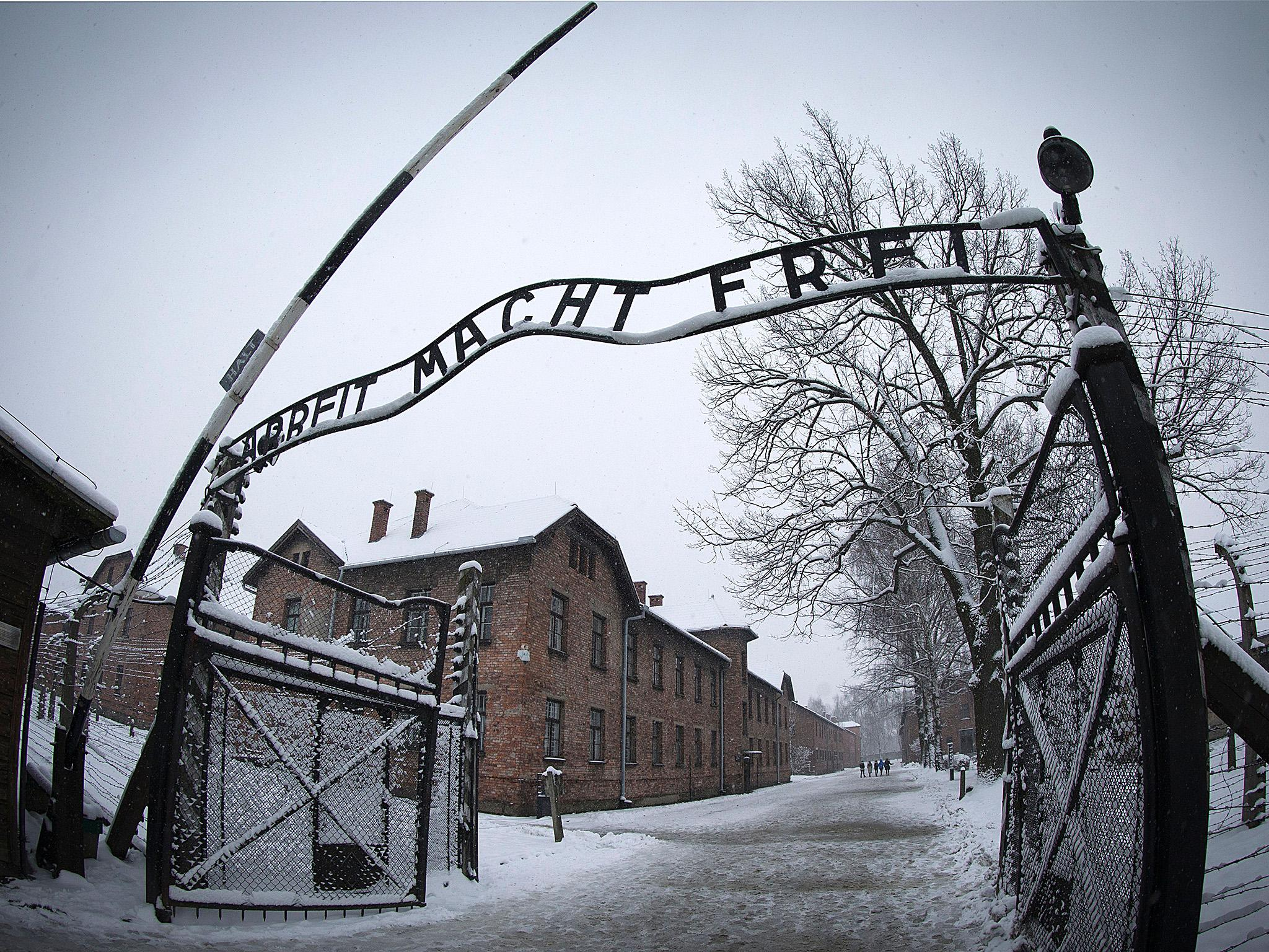Auschwitz visitors told to stop posing for disrespectful photos at