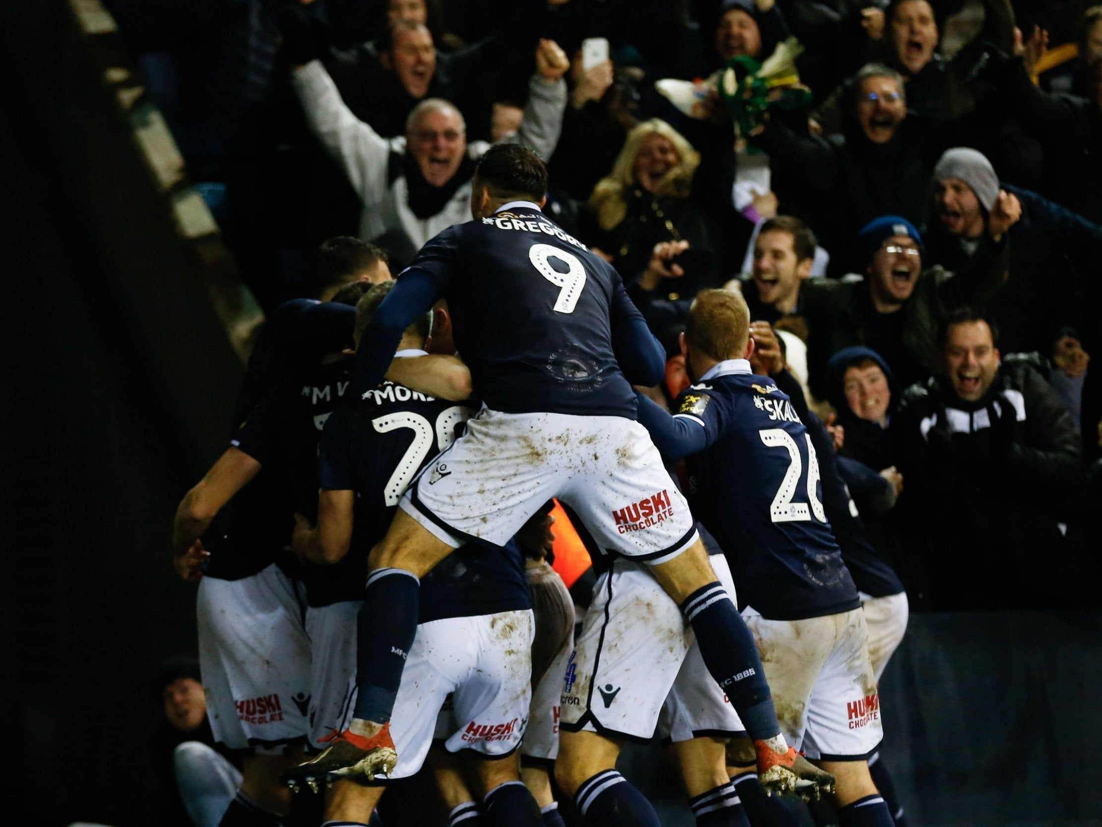 Millwall vs Everton: Alleged racist chanting at FA Cup tie being investigated by The FA
