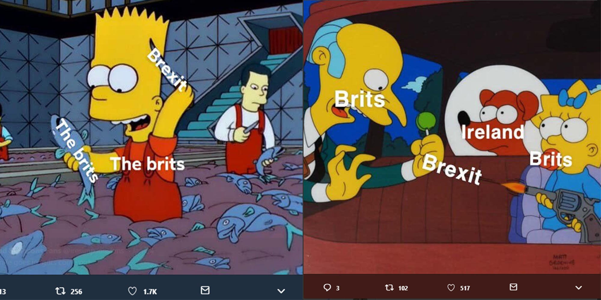 Irish people are mocking Brexit using Simpsons memes and ...