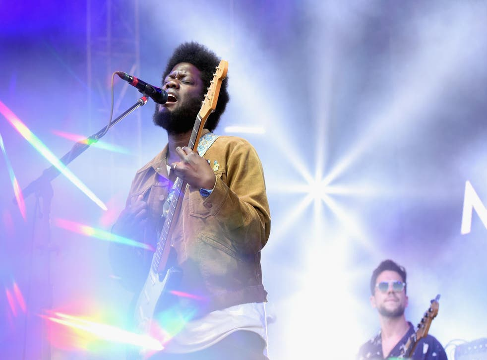 Michael Kiwanuka performs live at The Governers Ball Music Festival