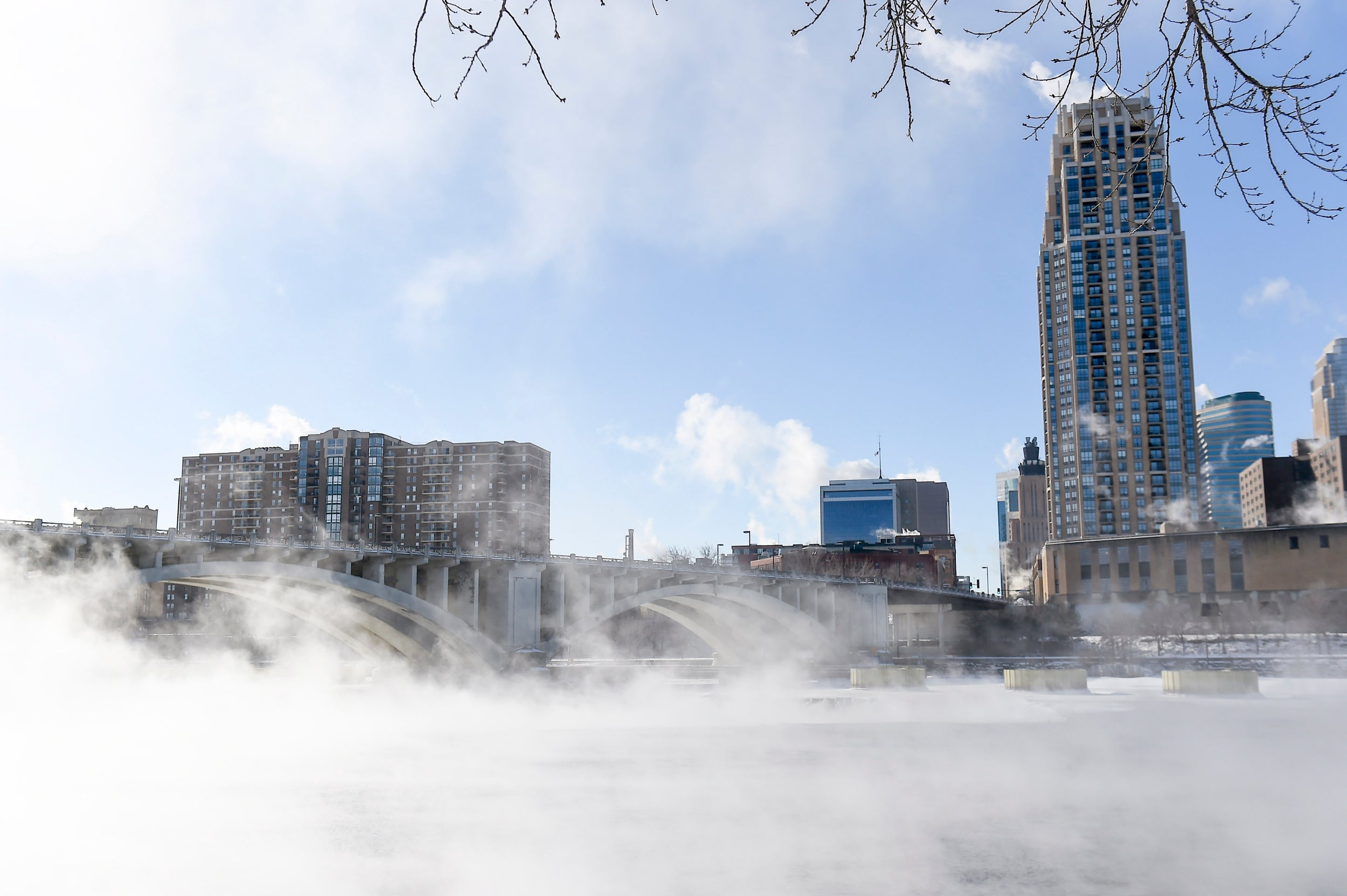 US weather: Hell freezes over as polar vortex triggers