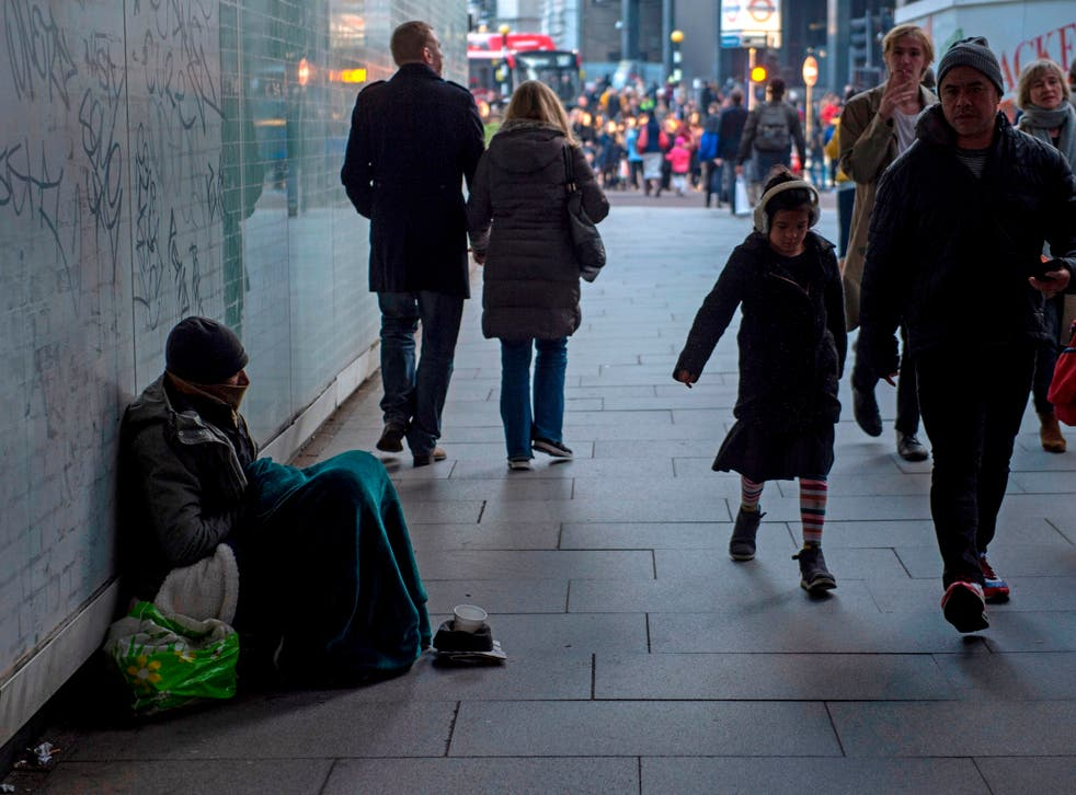 Data published by the ONS show 574 homeless people were recorded to have died in urban areas in 2017, compared with just 26 in rural areas