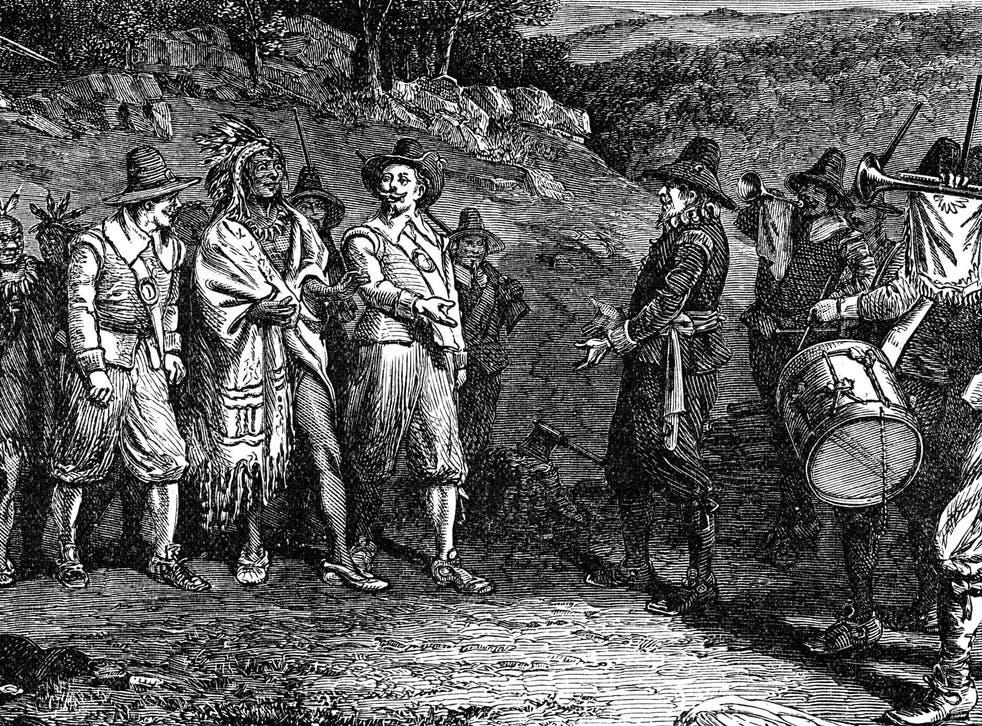 The arrival of Europeans in the Americas is thought to have wiped out up to 90 per cent of the native population