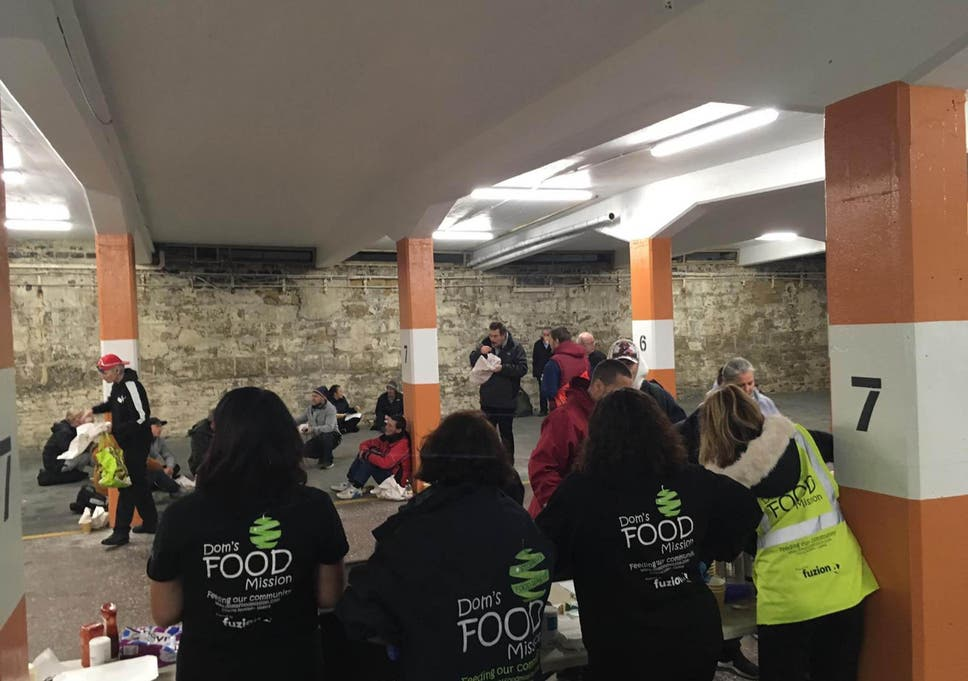 Food For The Homeless How Startup Projects Are Helping Feed