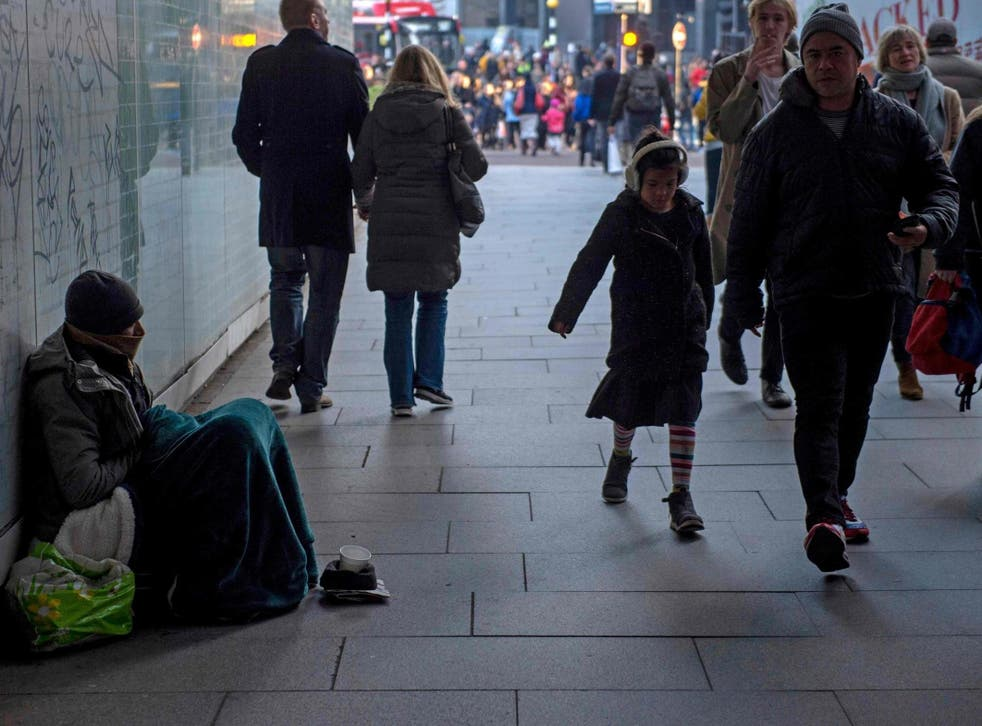 The homelessness crisis shows little sign of exacerbating