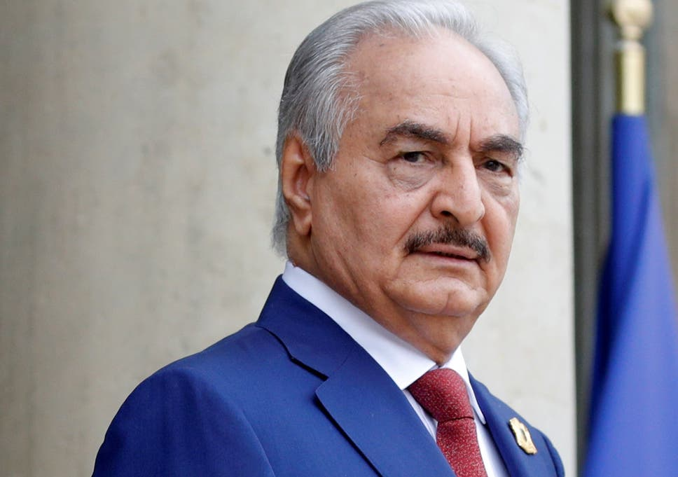 The International Criminal Court said war crimes have been likely been committed by members of Haftar's forces