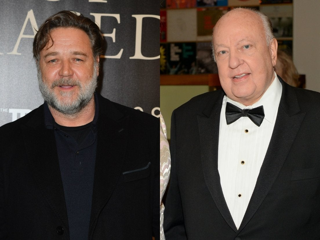 Russell Crowe transfor...