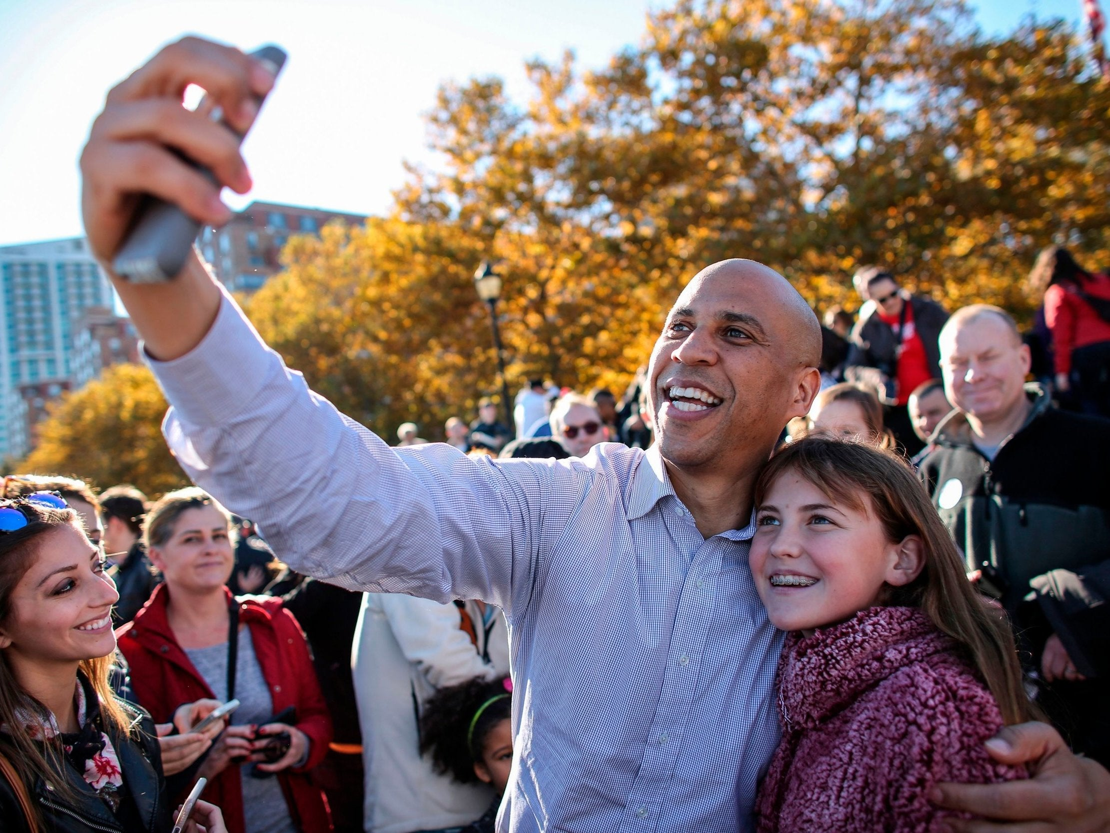 Trump: Cory Booker stands 'no chance' in 2020 presidential election