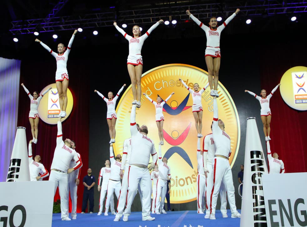 Team England compete at the World Championships in Orlando, Florida in 2018