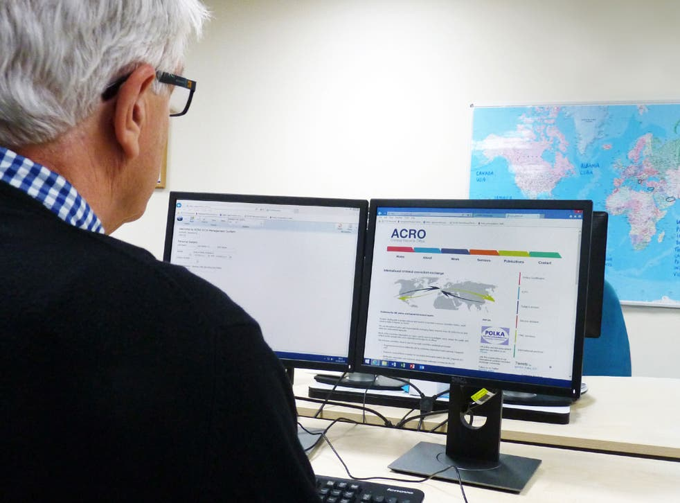 Acro sends hundreds of requests for criminal records through an EU system every day