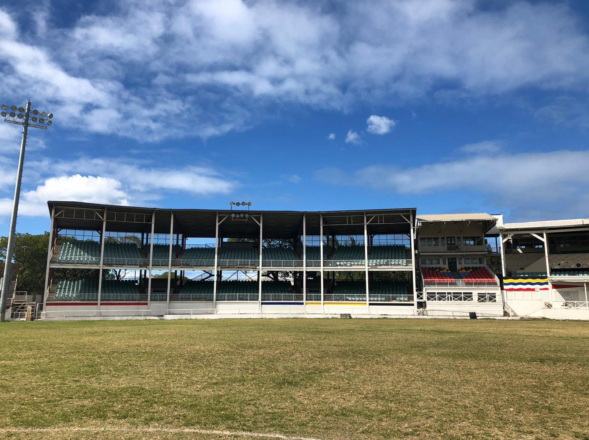 Antigua's Recreation Ground remains a dusty time capsule of