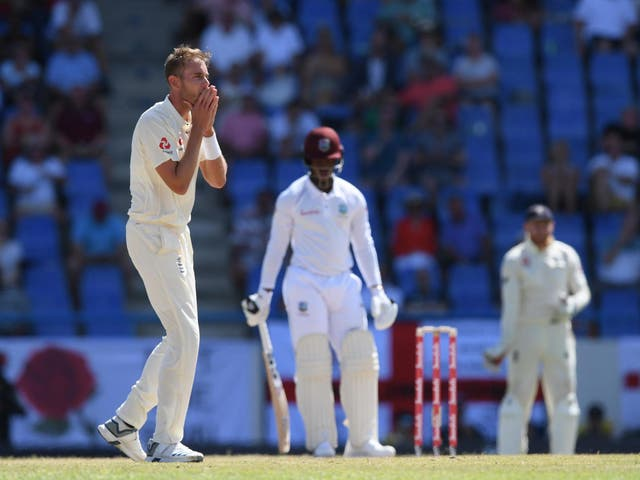 Stuart Broad impressed for England but it wasn't to be enough