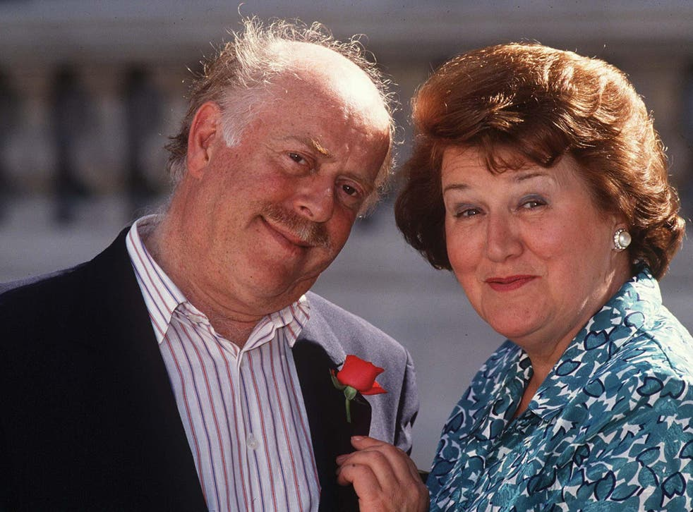 Clive Swift was best known for playing the long-suffering husband of Hyacinth Bucket in 'Keeping up Appearances'