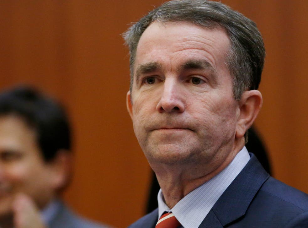 Two Democratic presidential candidates have Ralph Northam to resign.