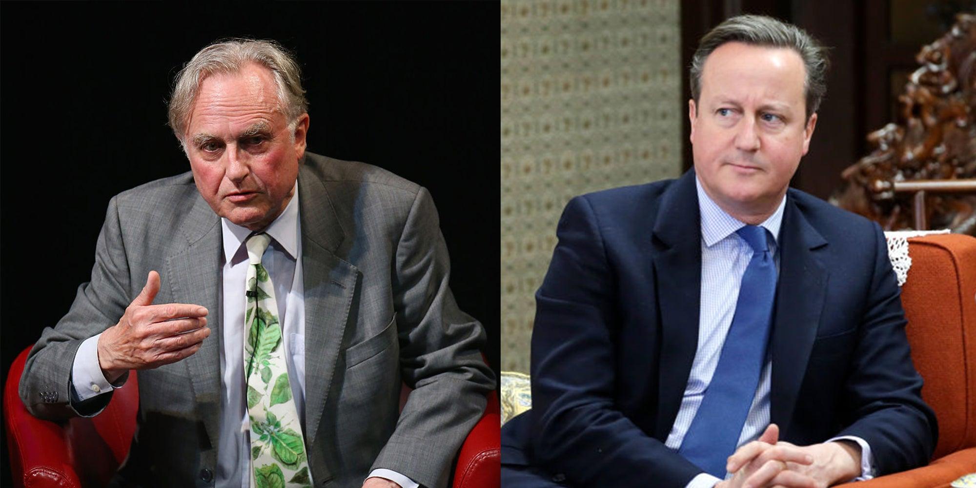Richard Dawkins takes aim at David Cameron and the EU referendum