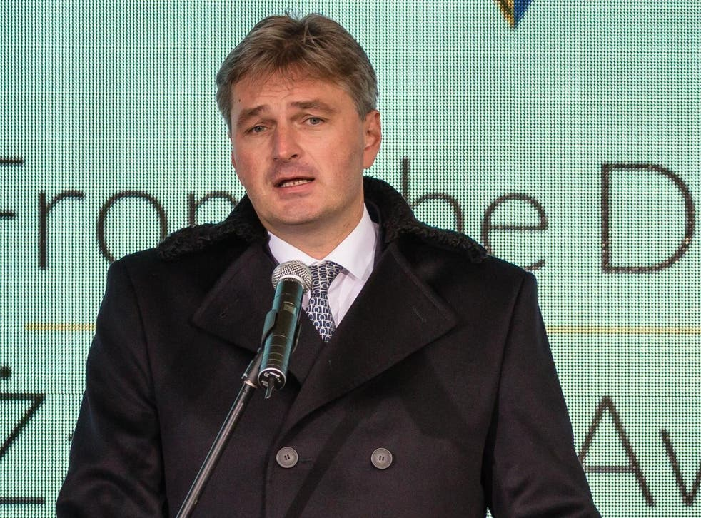 Kawczynski has been called out for addressing a conference for Europe's far right