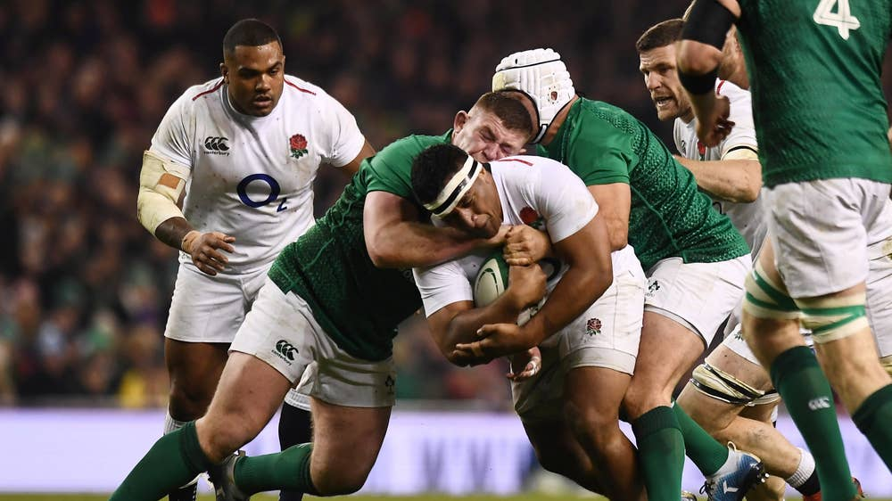 Six Nations team of the weekend: Henry Slade, Manu Tuilagi