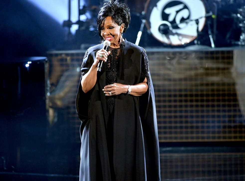 Gladys Knight performs onstage during the 2018 American Music Awards at Microsoft Theater on 9 October, 2018 in Los Angeles, California.
