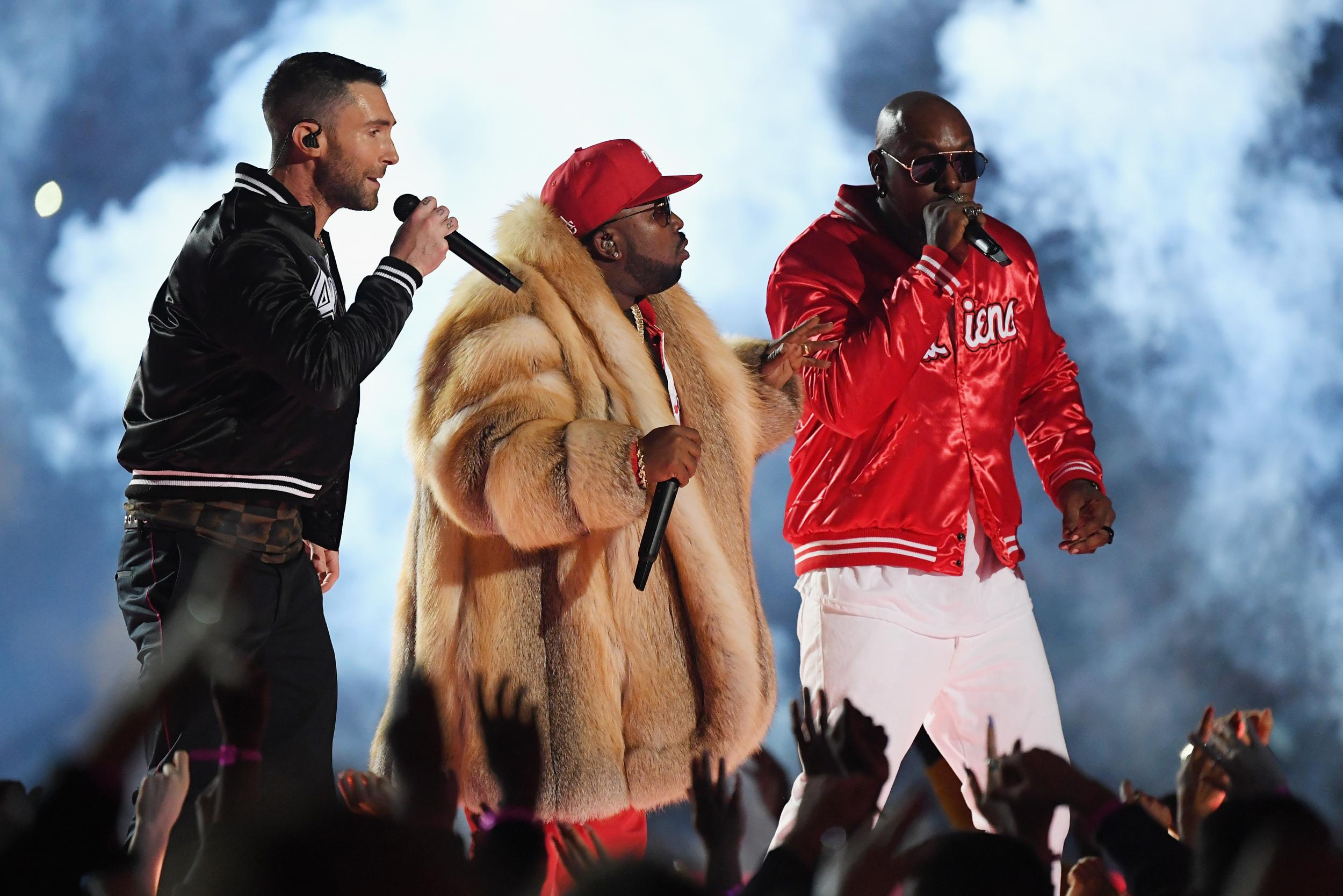 Super Bowl halftime show: Maroon 5 and Travis Scott performance criticised as 'worst in event's history'