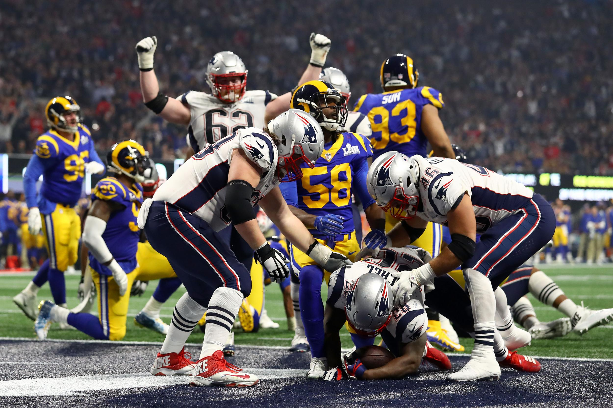 Super Bowl final score  Patriots beat Rams in lowest-scoring Super Bowl in  history  707f8aa5f
