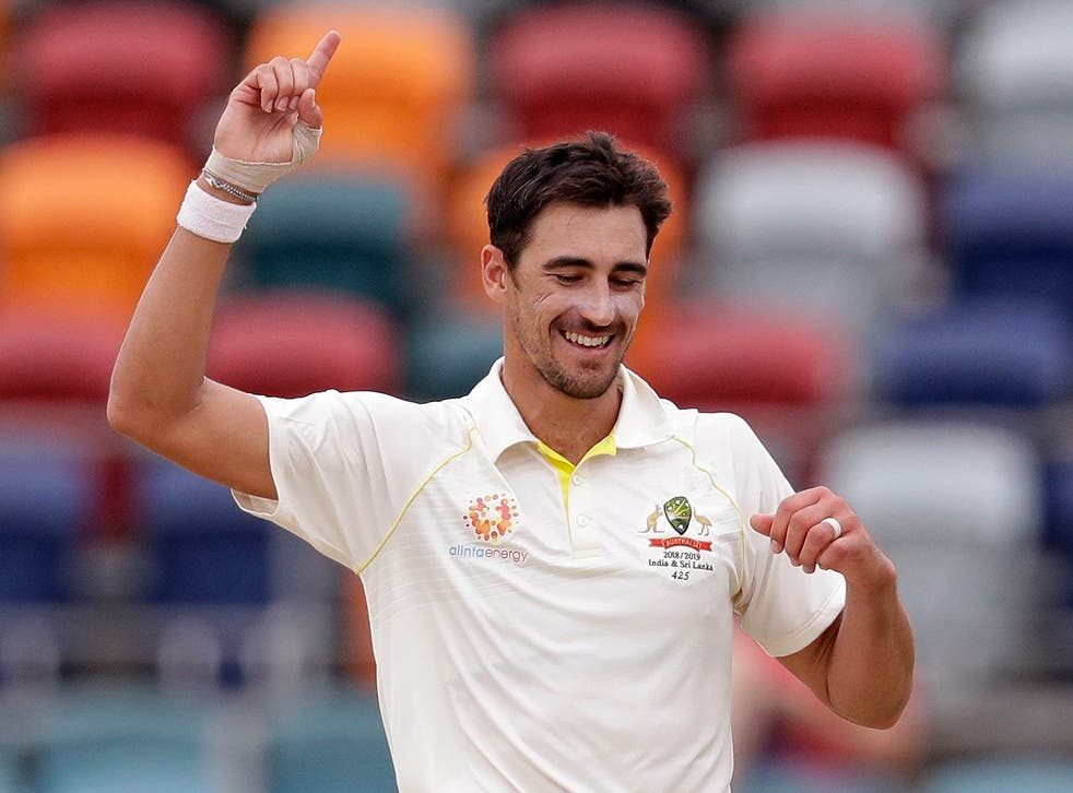 Mitchell Starc took 10 wickets in Australia's second Test win over Sri Lanka