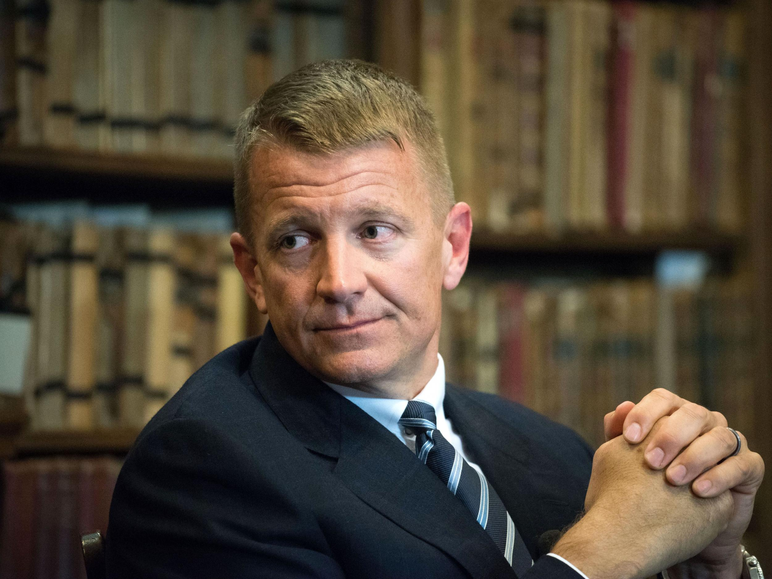 Trump ally Erik Prince reportedly under investigation by FBI for 'converting crop dusting plane into military aircraft'