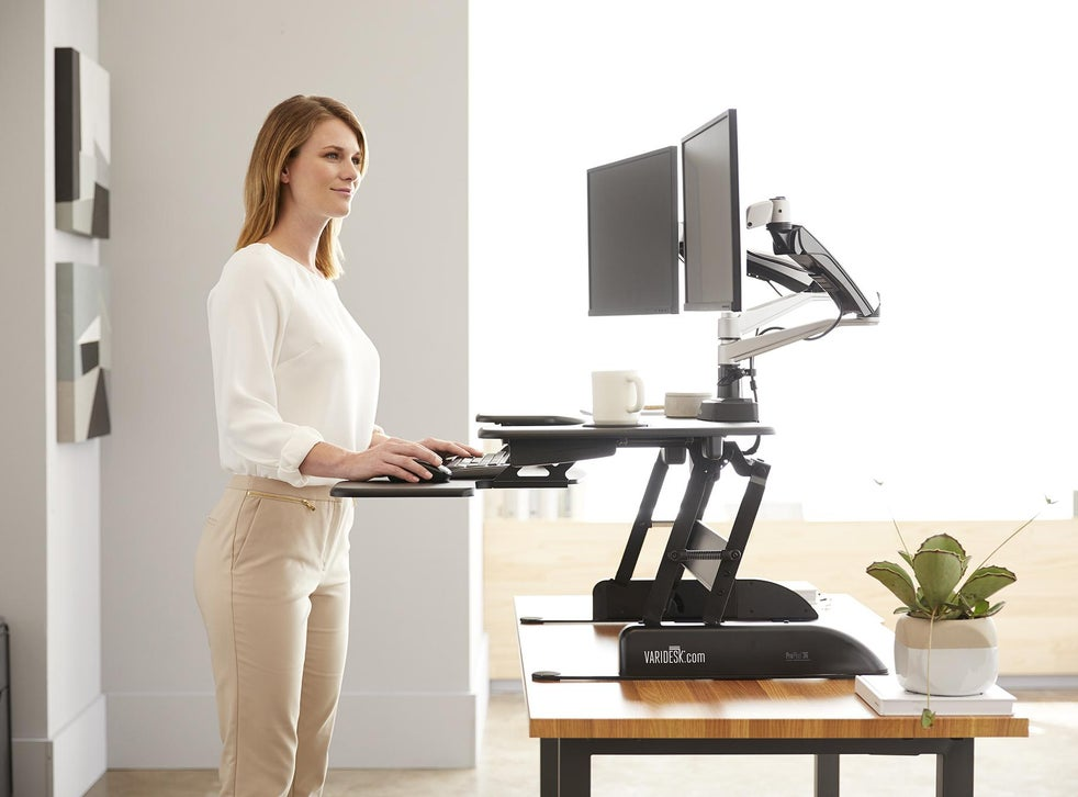 Best standing desks of 2020 to stand while working from home | The  Independent