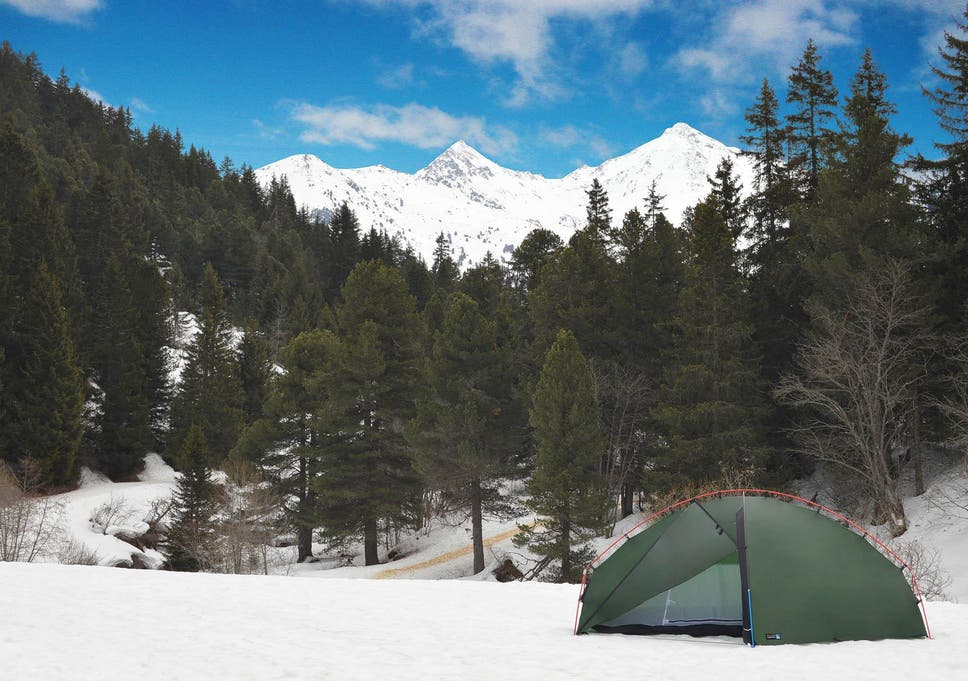 Most winter tents will have a domed top so you can easily get rid of any & 7 best winter tents | The Independent
