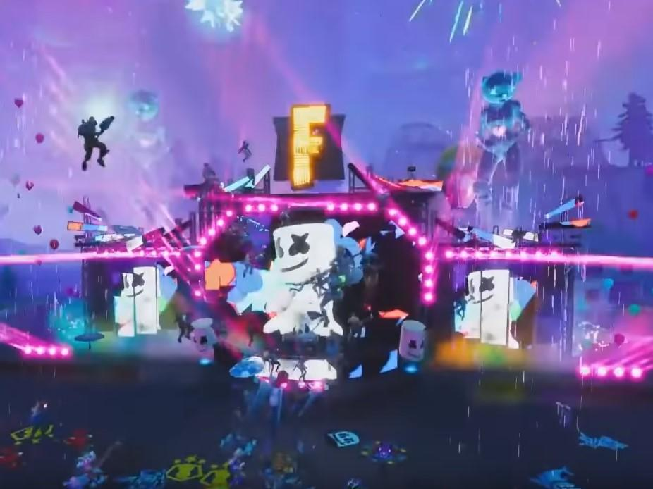 Fortnite hosts world's largest concert as Marshmello plays set to 10