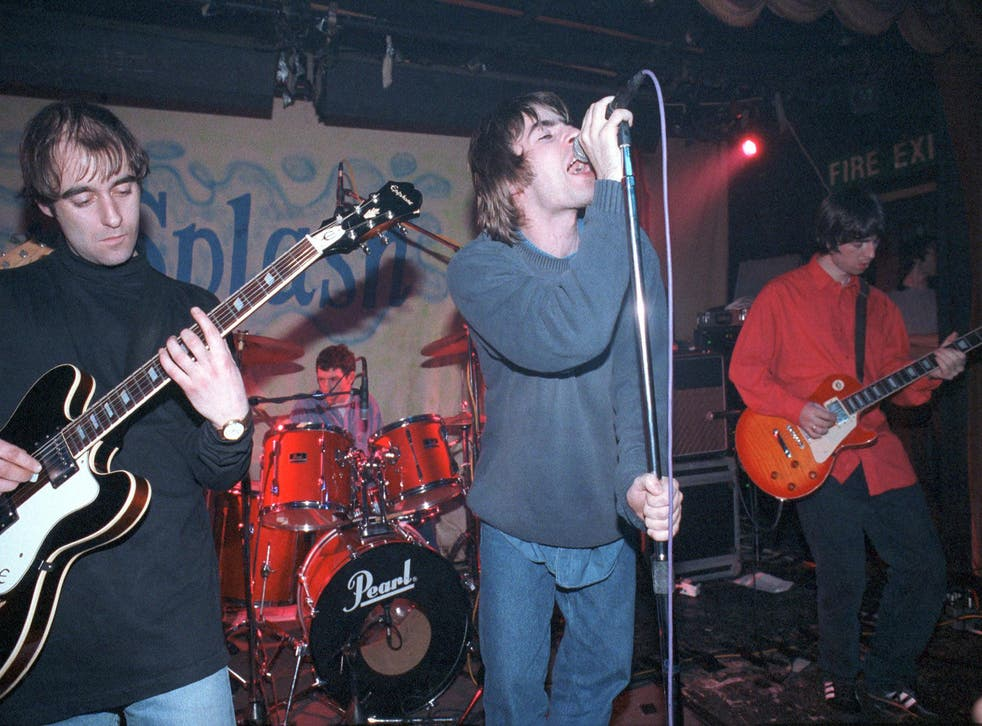 Oasis's London debut at the Water Rats, January 1994