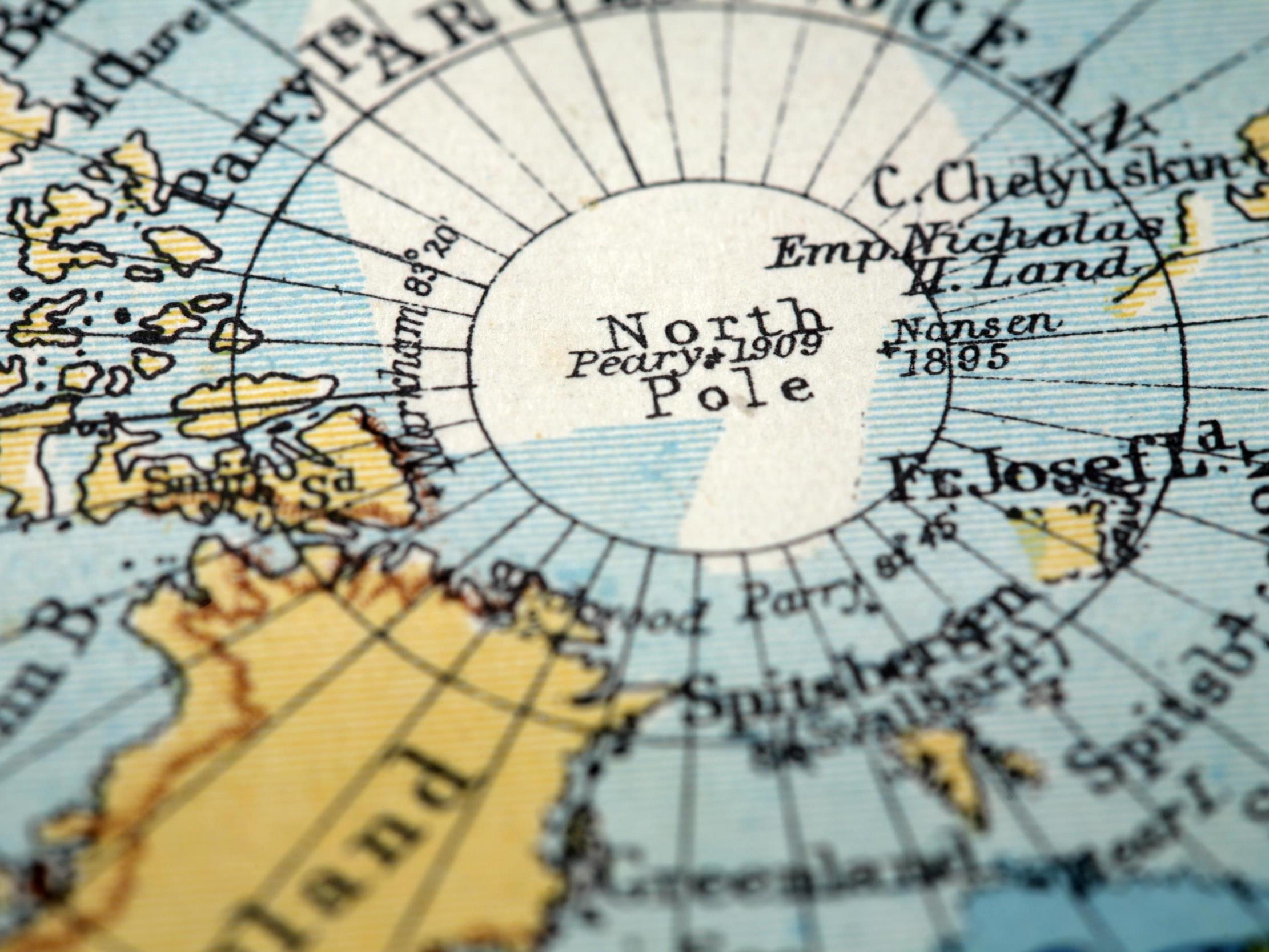 Pole position: Magnetic north moving 'pretty fast' towards