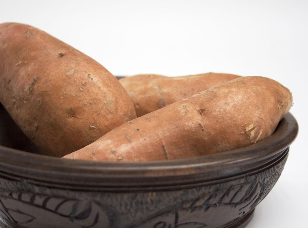 Sweet potatoes are popular in the UK, despite traditionally being produced in southern India