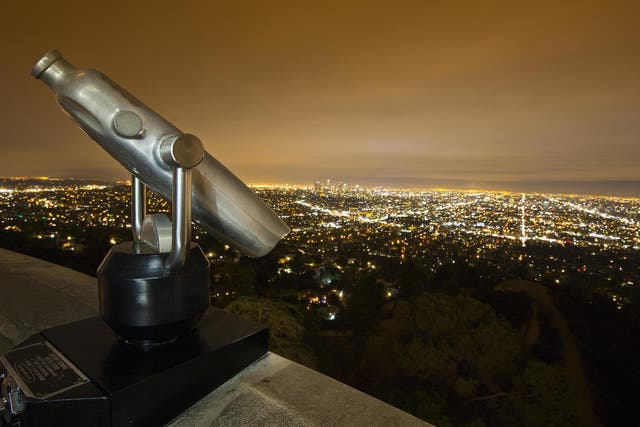 Spot a different kind of star at the Griffith Observatory