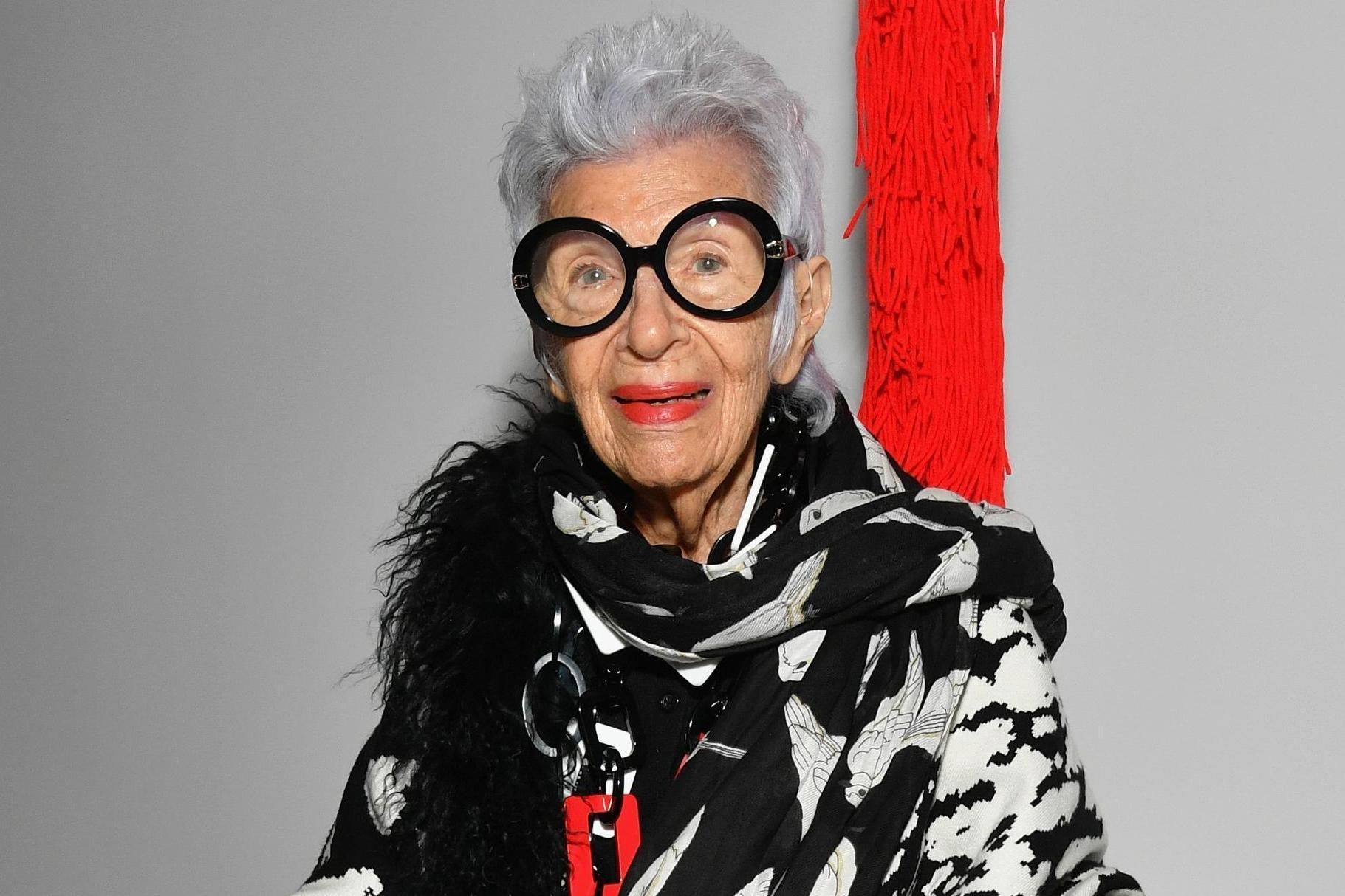 Style icon Iris Apfel signs modelling contract with IMG, aged 97