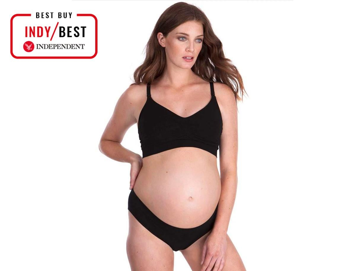 97ef02a848 Seraphine bamboo seamless maternity and nursing bra  £39