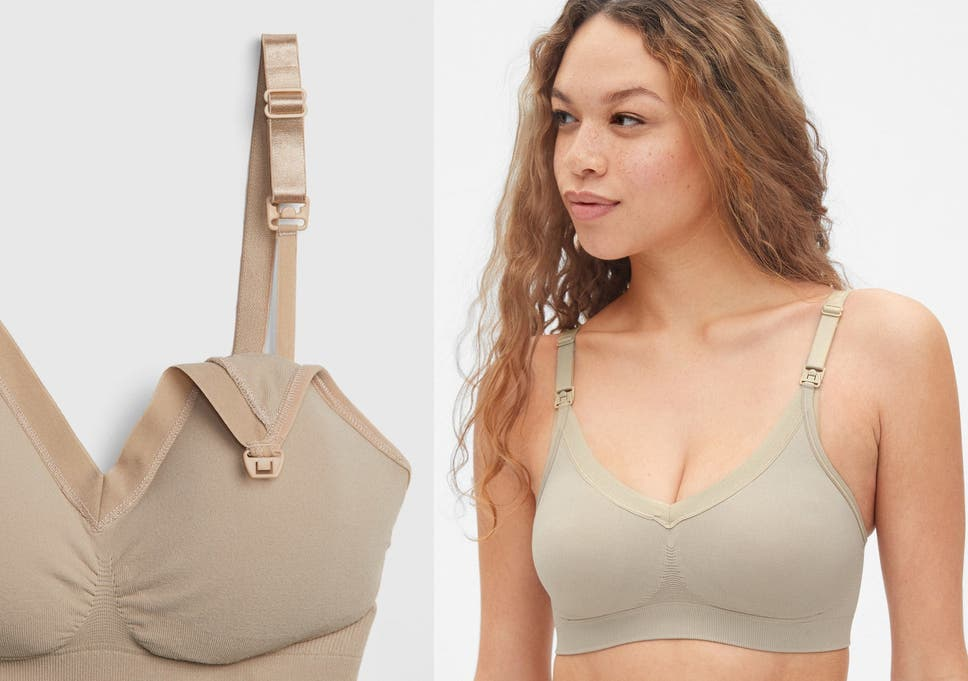 f286ec4ea3c1e Simple and stylish, this sporty and sleek v-neck bra from GAP is easy