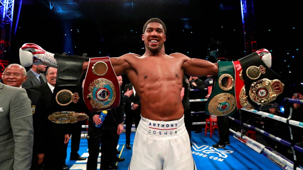 10. Anthony Joshua (22-0-0)