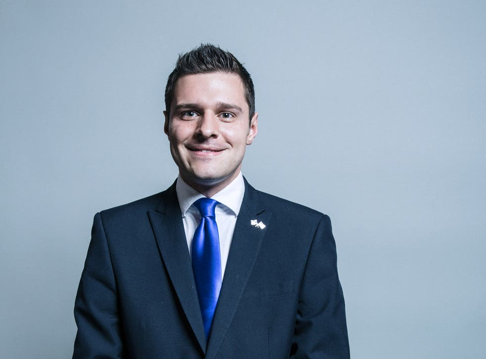 Mr Thomson is a prominent Brexit supporter and was elected to Westminster in 2017