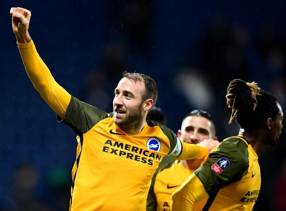Glenn Murray celebrates putting Brighton ahead