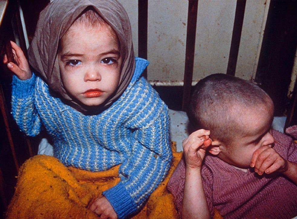 If a child is left to cry for long enough, it simply gives up and withdraws from the world