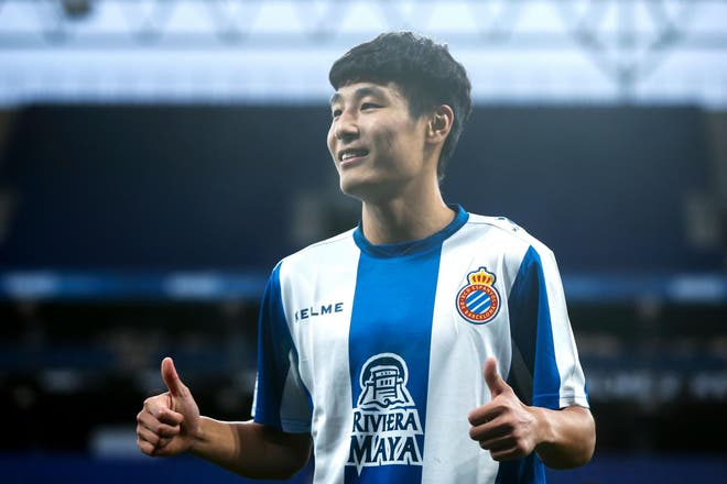 西班牙人新签约吴磊的西甲首次亮相,在中国有超过4000万人观看