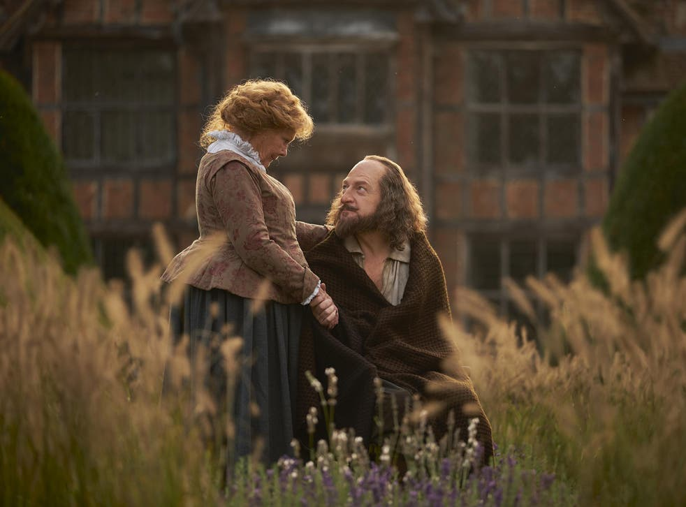 Judi Dench plays the wife to Kenneth Branagh's William Shakespeare