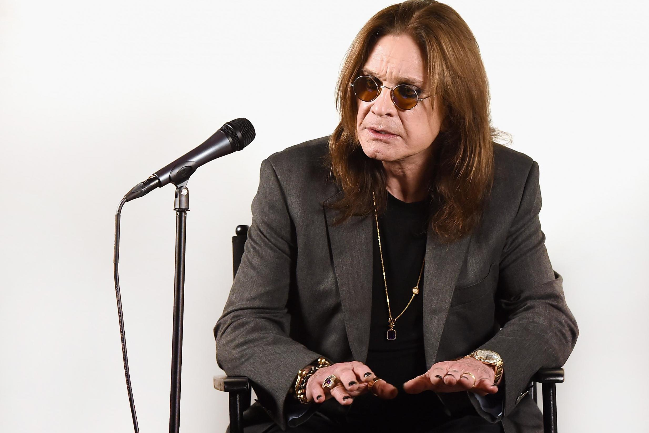 Ozzy Osbourne admitted to hospital due to complications from the flu