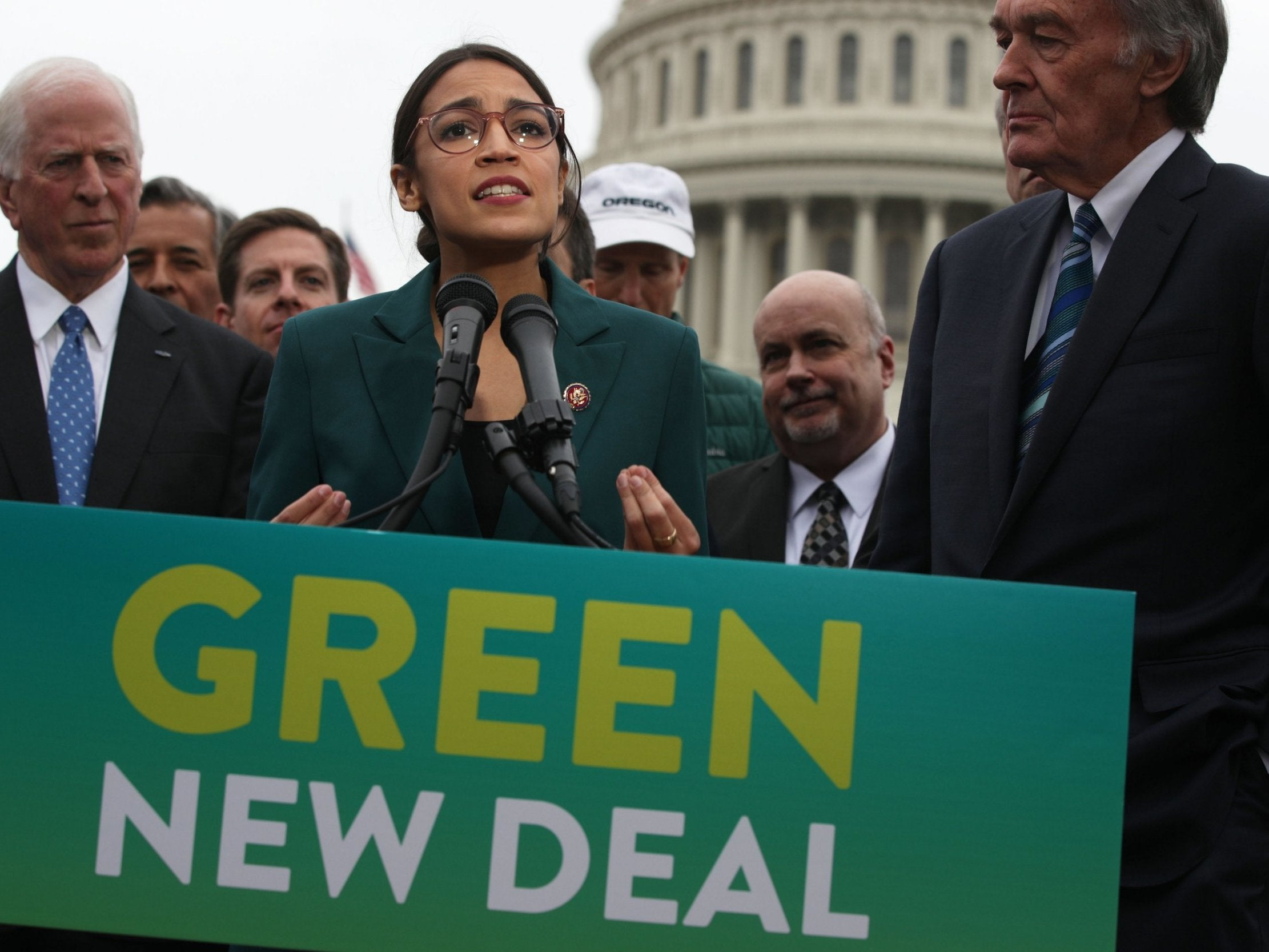 Green New Deal: Alexandria Ocasio-Cortez proposes sweeping plan to save the world from climate change