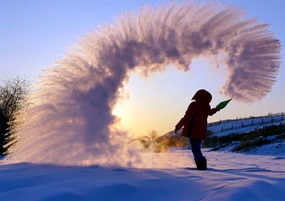 1ec909ba2d9 Dubak Challenge goes viral as Instagram users throw boiling water ...