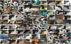 Twice as many guns seized at US airports last year