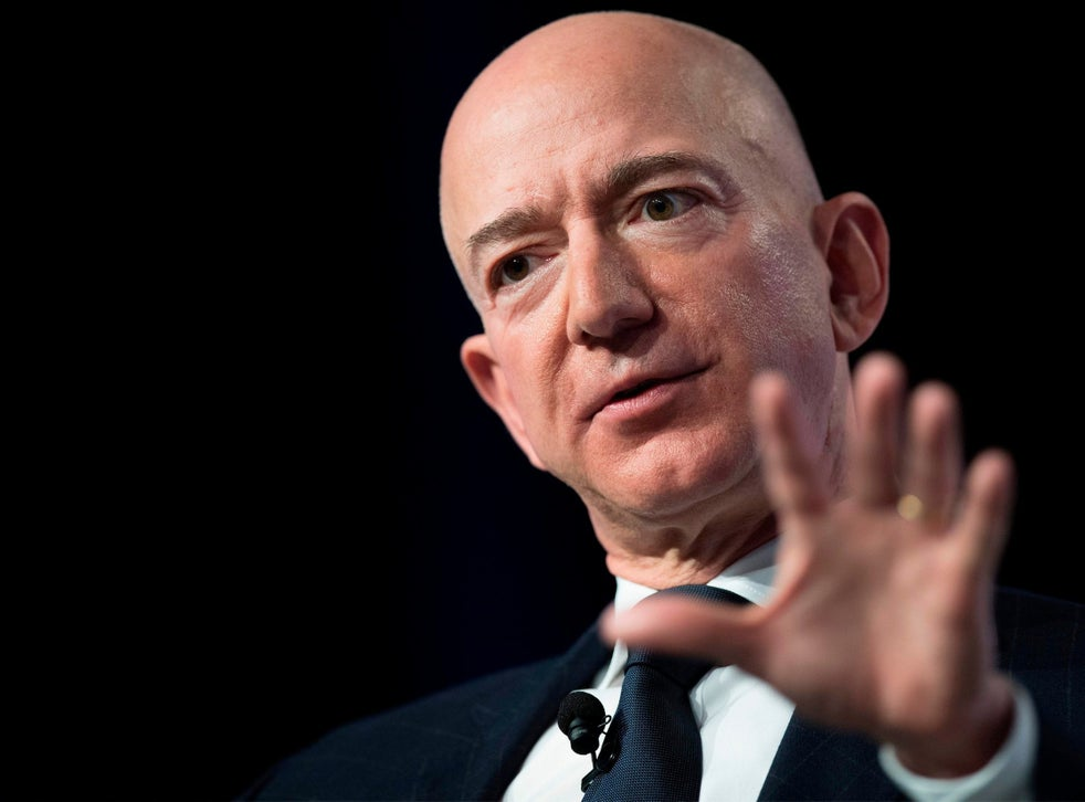 Amazon CEO Jeff Bezos says National Enquirer tried to