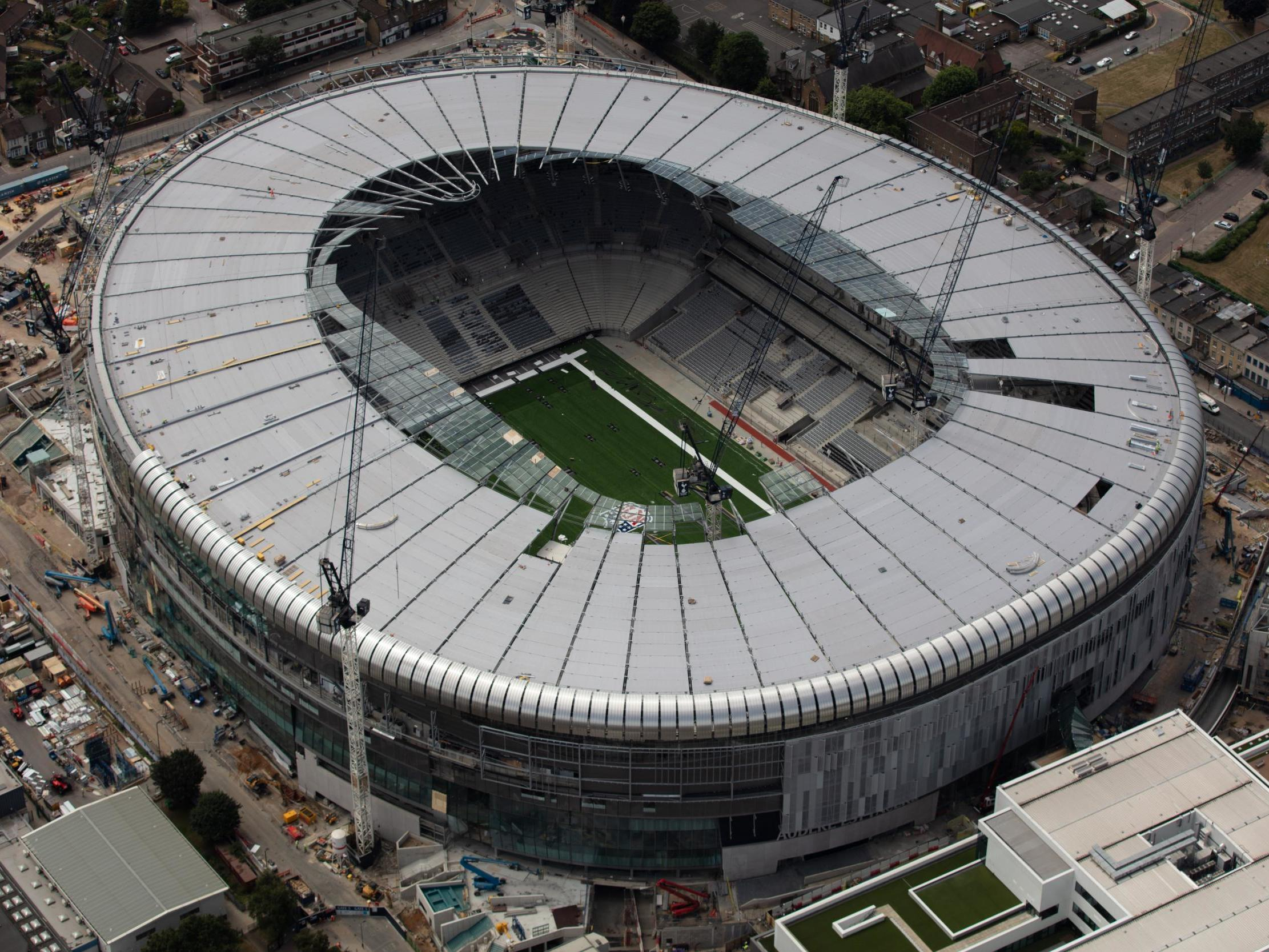 Tottenham new stadium: Spurs deny